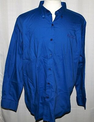 Walmart Button Front Employee Long Sleeve Shirt Size XL