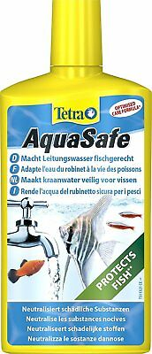 Tetra AquaSafe Water Conditioner Clean Fish Tank Aquarium Treatment 500ml