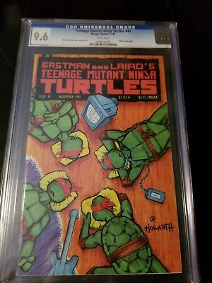 Teenage Mutant Ninja Turtles #41 | VF/NM 9.6 cgc | Nov 1991 | Eastman Laird