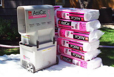 ATTICAT INSULATION MACHINE Owens Corning