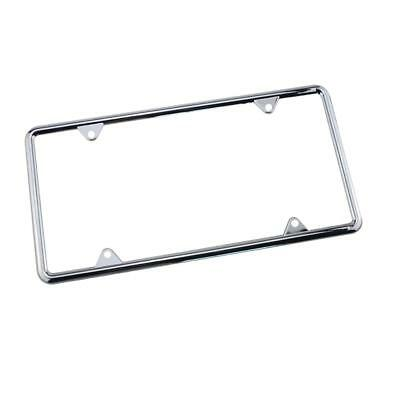 Zinc Alloy Number Plate Holder Frame Front and Rear Mount Car Replacement