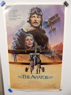 """""""THE AVIATOR"""" Christopher Reeve 1985 Home Movie Classic Hanging Wall Poster"""