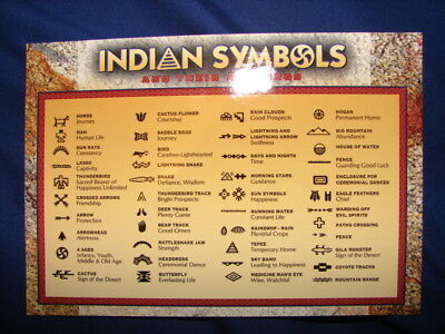 Indian Symbols And Their Meanings Oklahoma Native American Horse