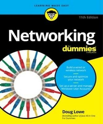 Networking for Dummies, 11th Edition by Doug Lowe PDF Read on PC/SmartPhone/Tabl