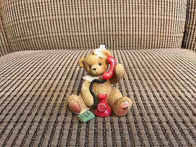 Cherished Teddies 2000 Doris I Just Called To Say I Love You