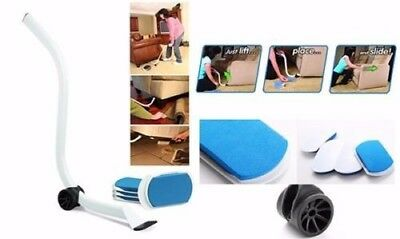 Furniture Lifter Moves with EZ Mover Sliders Kit Home Moving Lifting + 4 Sliders