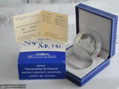 1€ 1/2 BE France 2002 argent - MONUMENTS DE  FRANCE MONT SAINT MICHEL RARE !!