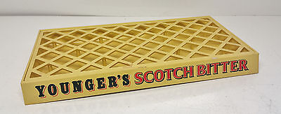 Vintage 1970's Youngers Scotch Bitter Drinks Drip Tray Brewery Advertising Retro