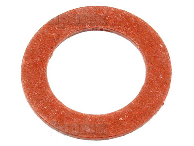 """3/4"""" Oil Pan Drain Plug Fiber Gasket Washer Seal For Ford Tractors"""