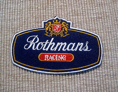 Rothmans Racing Williams Renault Formel 1 Ayrton Senna Retro Aufnäher/-bügler