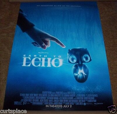 EARTH TO ECHO Original Movie Poster, 27x40 Size, Free Shipping Included New