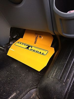 Bmw X6 Safe T Pedal Security In Yellow  Right Hand Drive