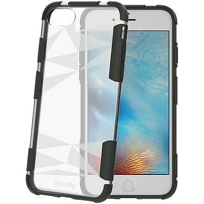 Posten 100 Stück Celly Original Prysma Hülle Cover Apple iPhone 7 8 Transparent