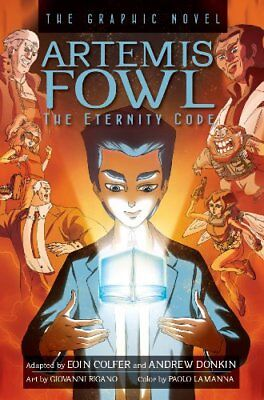 Artemis Fowl: The Eternity Code: The Graphic Novel by Eoin Colfer (Hardback,...