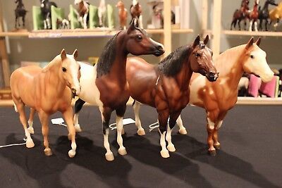 Breyer Traditional Horse Lot of 4