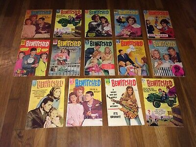 Bewitched #1 to #14. Complete set! A great gift! Ship anywhere! Liz Montgomery!!