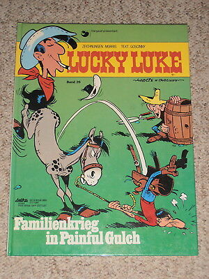 Lucky Luke Band 26 (HARDCOVER) 1. Nachdruck 1984 ***TOP***