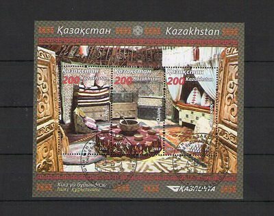 Kasachstan 2014 Michel-Nr. Block / Sheet 58 O Gestempelt Used