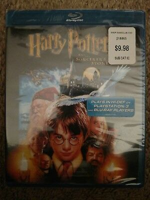 Harry Potter and the Sorcerers Stone (Blu-ray Disc, 2007) Brand New & Sealed