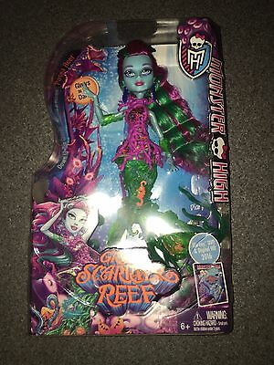 Nib Monster High Great Scarrier Reef Posea Reef Doll I Ship Everyday