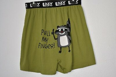 Lazy One Boxer in Light Green size XL