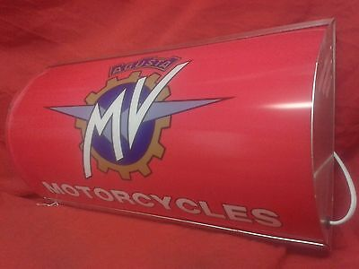 MV Agusta,lightup,sign,illuminated,classic,display,mancave,garage,shed,bike,fast