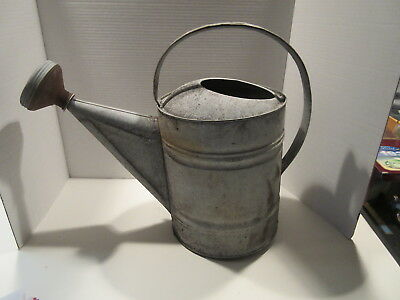 Vintage Watering Can Farmhouse Country Decor Large Galvanized