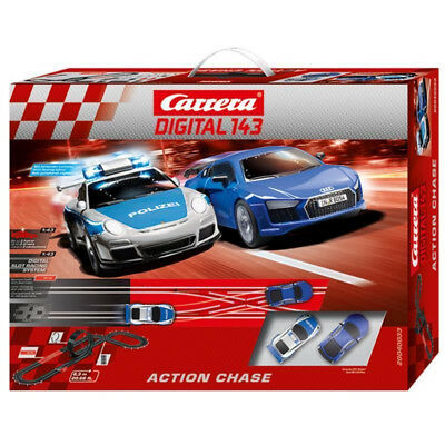 Carrerabahn Carrera Digital 143 Action Chase Set NEU OVP Blitzversand