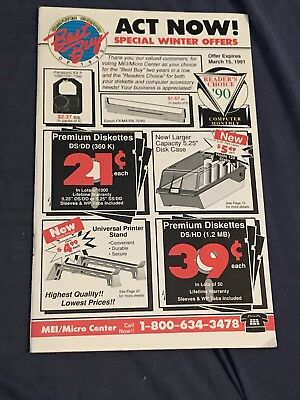 Computer Shopper of 1990 Best Buy Ad/Mailer