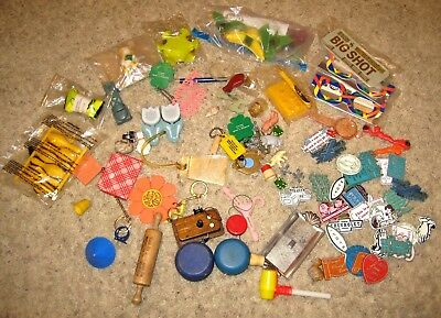 Cracker Jack Gumball Cereal Toys & Magnets lot