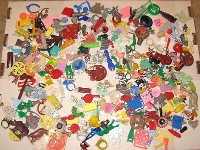 Cracker Jack Gumball Toys & Charms Vintage - large lot