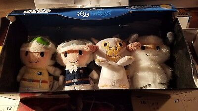 Hallmark Itty Bitty Bittys Star Wars HOTH Set Of 4 Collectors Characters New