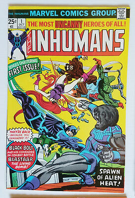 INHUMANS BRONZE AGE LOT  /  #1 HIGH GRADE VF/NM  / other #'s; 2 3 4 5 6 7 9 vary