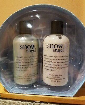 PHILOSOPHY Snow Angel Gift Set Shampoo Shower Gel Bubble Bath Body Lotion