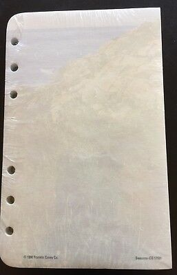 Franklin Covey Compact Size Unlined Blank Pages 4.25 x 6.75  Seasons ~ New