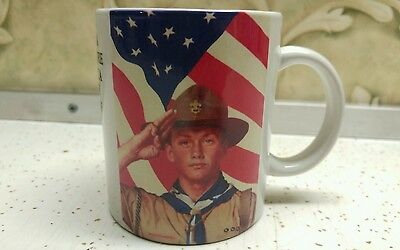 Boy Scouts Of America Norman Rockwell Mug We Too, Have A Job To Do