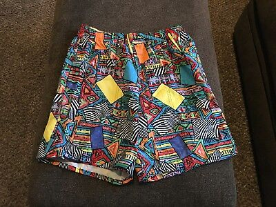Vintage Boundary Waters Bermuda type shorts size XL crazy 90's design