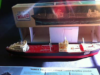 "1967 Wilco (Hess) ""Voyager"" Tanker EXCELLENT Condition w/Box"