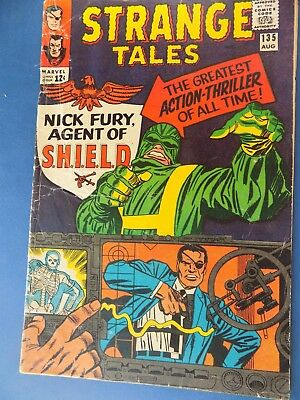 Strange Tales 135 First Nick Fury Agent Of Shield