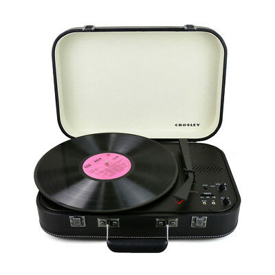 Crosley Coupe - Bluetooth Turntable with Pitch control - Black