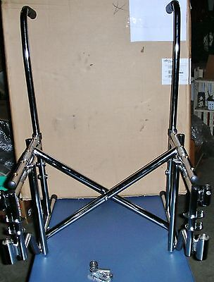 Wheelchair Frame Assembly Breezy Model GEY-220RRFR EC 2000 20'' (Frame Only)