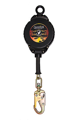 NEW Guardian Fall Protection Velocity Cable Self-Retracting Lifeline - 30ft SLR