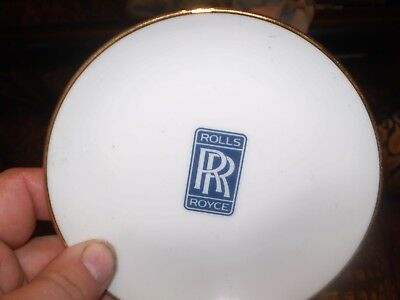 Rolls Royce china  plate Corporate dining room ?  5 inch