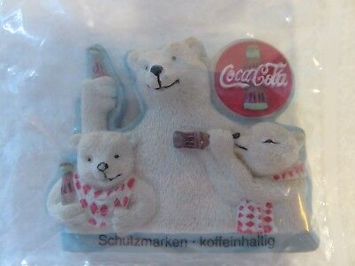 Coca Cola Polar Bear Magnet from Germany