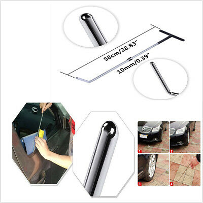 Professional PDR Stainless Steel PDR Push Rod Hail Damage Removal Dent Repair
