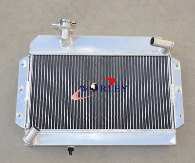Aluminum Radiator For Mg Mga 1500 1600 1622 De Luxe 1955-1962 1956 57