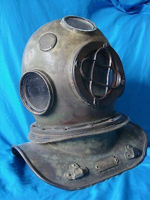 Brazilian Diving Helmet Rare Person antique dive helmet maritime scuba