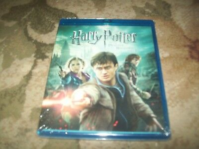 Harry Potter and the Deathly Hallows: Part II (Blu-ray, 2011...... NEW & SEALED*