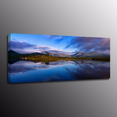Landscape HD Canvas Prints Oil Painting Picture Wall Art Blue Sky