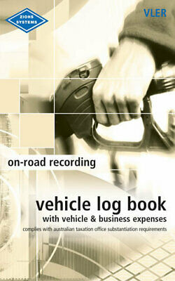 Zions VLER Vehicle Log & Expenditure Book - VLER